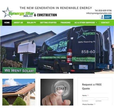 Synergy Star Solar & Construction