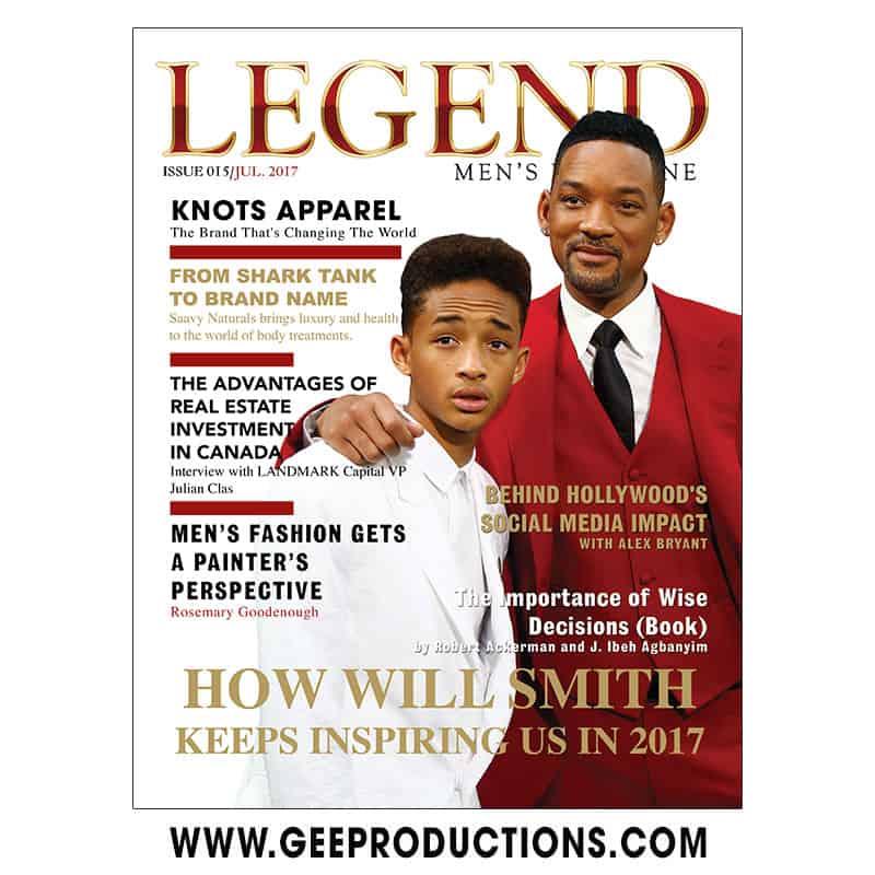 Legend Men's Magazine – July Cover Design