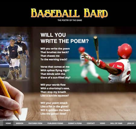 Baseball Bard – The Poetry Of The Game