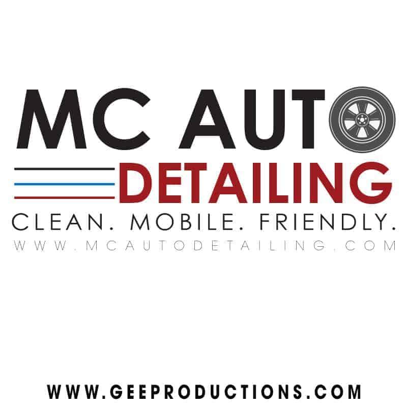 Mc Auto Detailing Logo Design