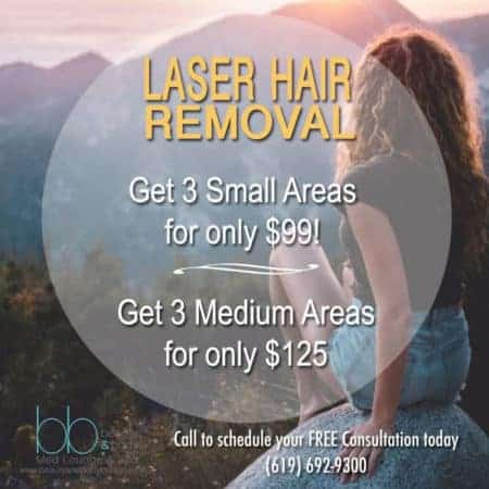 Beauty & Body Med Lounge & Spa – Laser Hair Removal Ad