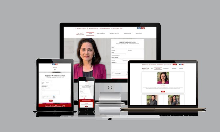 Amezola Legal Group - Brand Design Portfolio