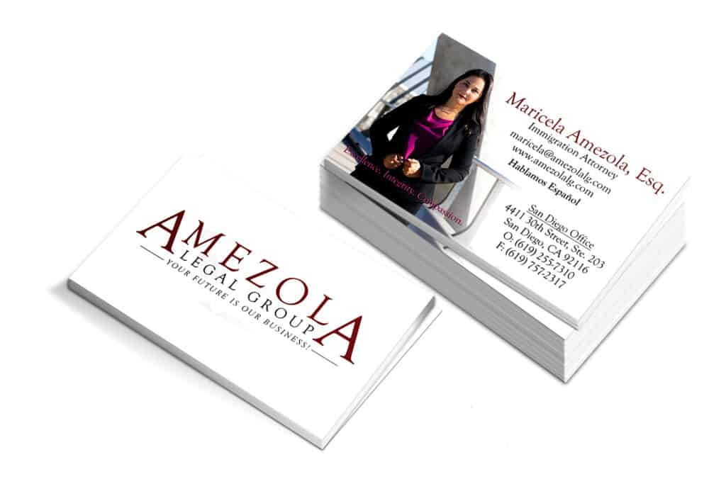 Maricela Amezola Business Cards